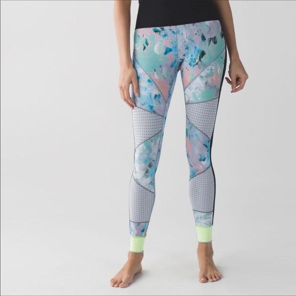 Lululemon Reversible Paddle Times Leggings Pants 2
